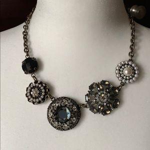 Lia Sophia brooch necklace